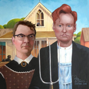 Dave OConnell, American Gothic CoCo, Illustration