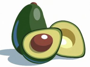 Dave OConnell, Avocado, Graphic, Food