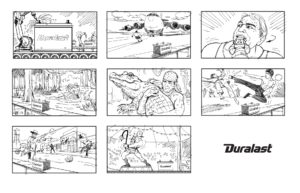 Dave OConnell, Duralast, Storyboard