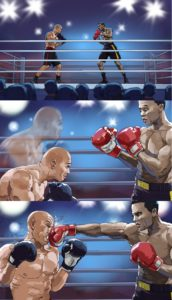 Boxing, Storyboard