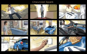 Dave OConnell, Chevrolet, Storyboard, car