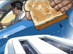 Dave OConnell, Chevrolet, Storyboard, toast