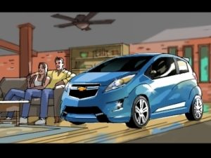 Dave OConnell, Chevrolet, Storyboard