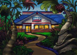 Dave OConnell, I Hop, Storyboard