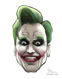 Dave OConnell, Joker, Conan art gallery, Illustration
