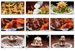 Dave OConnell, Food, Storyboard