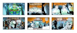 Dave OConnell, Walking Dead, Dave & Busters, Storyboard