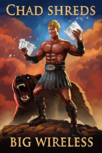 Dave OConnell, Alltel, Illustration, bear, Gladiator