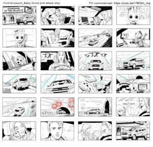 Dave OConnell, Ford Ecosport Guardians Of The Galaxy, Black & WhiteStoryboard, https://youtu.be/ii7M3dm_xkg