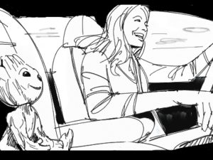 Dave OConnell, Ford Ecosport Guardians Of The Galaxy, Storyboard,