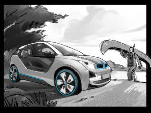 Dave OConnell, Hybrid BMW, Storyboard