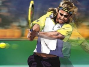 Dave OConnell, Andre Agues, Storyboard, Tennis, Sports