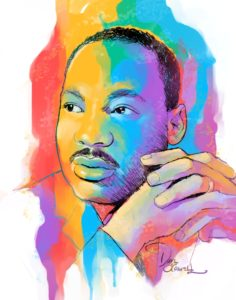 Dave OConnell, Martin Luther King JR, Illustration