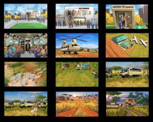 Dave OConnell, Safari, Storyboard,Africa