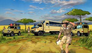 Dave OConnell, Safari, Storyboard