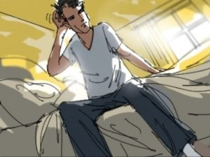 Dave OConnell, Guy, morning, Storyboard