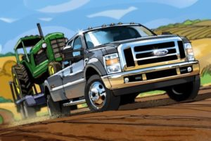 Dave OConnell, Ford Truck, Storyboard