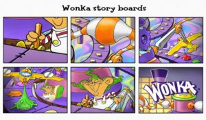 Storyboard, Cartoon