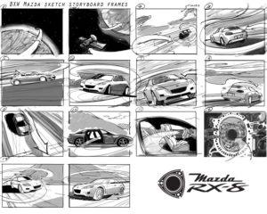 Dave OConnell, Mazda, Storyboard