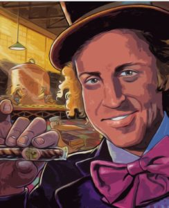 Dave OConnell, Willy Wonka, Illustration